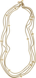 Estate Jewelry:Necklaces, Diamond, Gold Necklace, David Yurman. ...