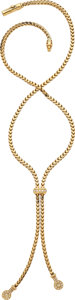 Estate Jewelry:Necklaces, Diamond, Gold Necklace, Di Modolo. ...