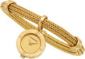 Estate Jewelry:Watches, Verdura Lady's Gold Watch Bracelet. ...