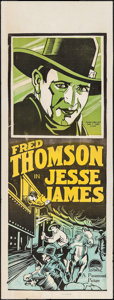 "Movie Posters:Western, Jesse James (Paramount, 1927). Australian Pre-War Daybill (15"" X 40""). Western. Second Printing.. ..."
