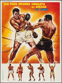 "Fight of the Century (SECMA, 1971). French Grande (47.5"" X 63""). Sports"