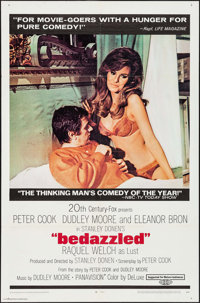 """Bedazzled (20th Century Fox, 1967). One Sheet (27"""" X 41"""") & Uncut Pressbook (12 Pages, 9"""" X 13.75&quo..."""