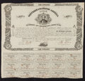 Confederate Notes:Group Lots, Confederate States of America - Lot of 2 Act of August 19, 1861Coupon Bonds.. ...