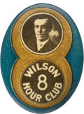 Political:Pinback Buttons (1896-present), Woodrow Wilson: Great 1916 Novelty Button....