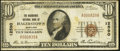 National Bank Notes:Maryland, Hagerstown, MD - $10 1929 Ty. 1 The Nicodemus NB Ch. # 12590. ...