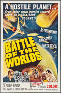 "Movie Posters:Science Fiction, Battle of the Worlds (Topaz, 1963). One Sheet (27"" X 41""). ScienceFiction.. ..."