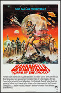 "Movie Posters:Science Fiction, Barbarella (Paramount, R-1977). One Sheet (27"" X 41"") & Ad Mats(6 Pages, 12"" X 18""). Science Fiction.. ... (Total: 2 Items)"