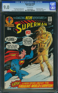 Superman #238 (DC, 1971) CGC VF/NM 9.0 Off-white pages