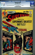 Bronze Age (1970-1979):Superhero, Superman #239 (DC, 1971) CGC VF- 7.5 Cream to off-white pages.