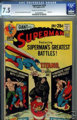 Superman #239 (DC, 1971) CGC VF- 7.5 Cream to off-white pages