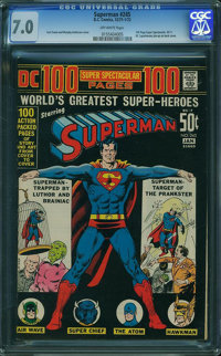 Superman #245 (DC, 1972) CGC FN/VF 7.0 Off-white pages