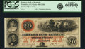 Obsoletes By State:Kentucky, Frankfort, KY - Farmers Bank of Kentucky $20 Aug. 3, 1859 KY-100 G228a, Hughes 261. PCGS Gem New 66PPQ.. ...