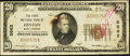 National Bank Notes:West Virginia, Hinton, WV - $20 1929 Ty. 1 The First NB Ch. # 5562. ...
