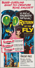 """Movie Posters:Science Fiction, Return of the Fly (20th Century Fox, 1959). Three Sheet (41"""" X79""""). Science Fiction.. ..."""