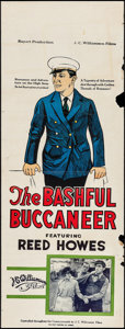 """Movie Posters:Comedy, The Bashful Buccaneer (Rayart Pictures, 1925). Australian Pre-War Daybill (15"""" X 40""""). Comedy.. ..."""