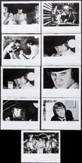 "Movie Posters:Science Fiction, A Clockwork Orange (Warner Brothers, 1971). Photos (9) (8"" X 10"").Science Fiction.. ... (Total: 9 Items)"