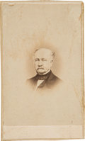 Autographs:Celebrities, California Gold Rush: Autographed John A. SutterCarte-de-Visite....