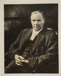 Autographs:Celebrities, Clarence Darrow: Signed Studio Portrait....