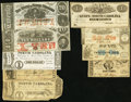 Obsoletes By State:North Dakota, NC - Lot of 9 State of North Carolina Notes.. ... (Total: 9 notes)