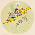 Animation Art:Production Drawing, Hank Porter - Gremlin WWII Insignia Illustration Animation Art(Walt Disney, 1944)....
