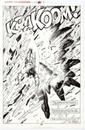 Original Comic Art:Splash Pages, Val Semeiks and Alfredo Alcala Conan the Barbarian #217Story Page 29 Original Art (Marvel, 1989)....