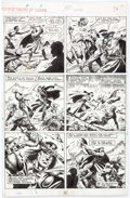 Original Comic Art:Panel Pages, Ovi Hondru The Savage Sword of Conan #172 Story Page 5Original Art (Marvel, 1990)....