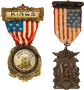 Political:Inaugural (1789-present), Woodrow Wilson: Inauguration and Patriotic Badges.... (Total: 2Items)