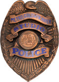 Entertainment Collectibles:Movie, Metro-Goldwyn-Mayer: Studio Police Badge....