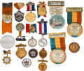 General Historic Events:World Fairs, Chicago World's Fair of 1893 et al: Assorted Badges....