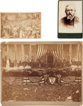 Photography:Official Photos, Benjamin Harrison: Two Great Original Photos Plus a CabinetCard.... (Total: 3 Items)