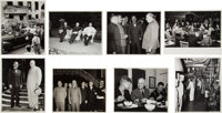 Harry S Truman: An Exceptional Collection of Thirty-two Original Glossy Photos