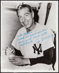 "Movie Posters:Sports, Joe DiMaggio (1970s). Autographed Convention Photo (8"" X 10""). Sports.. ..."