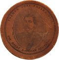 Political:Tokens & Medals, [Abraham Lincoln]: Anti-McClellan Medal in Leather....