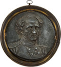 Political:3D & Other Display (pre-1896), Winfield Scott: High Relief Iron and Brass Wall Plaque....