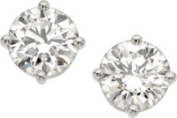 Diamond, Platinum Earrings, Tiffany & Co