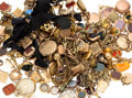 Estate Jewelry:Other, Diamond, Multi-Stone, Enamel, Gold, Silver, Yellow Metal Watch Fobs & Accessories 3lbs 4.5oz. ...