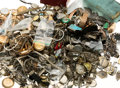 Estate Jewelry:Watches, Diamond, Multi-Stone, Synthetic Stone, Enamel, Platinum, Gold,Mixed Metal Watches & Parts 14 lbs. ...