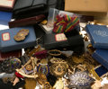 Estate Jewelry:Other, Diamond, Multi-Stone, Enamel, Gold, Silver, Base Metal Medals & Badges 6 lbs. ...