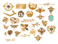 Estate Jewelry:Brooches - Pins, Diamond, Multi-Stone, Seed Pearl, Gold Brooches. ...