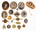 Estate Jewelry:Lots, Diamond, Seed, Half and Cultured Pearl, Enamel, Porcelain, Gold, Yellow Metal Jewelry. ...