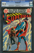Bronze Age (1970-1979):Superhero, Superman #254 (DC, 1972) CGC NM- 9.2 Off-white to white pages.