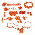 Estate Jewelry:Lots, Victorian Carved Coral, Gold Jewelry. . ...