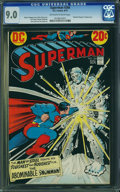 Bronze Age (1970-1979):Superhero, Superman #266 (DC, 1973) CGC VF/NM 9.0 Off-white to white pages.
