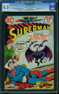 Superman #267 (DC, 1973) CGC FN+ 6.5 Off-white to white pages