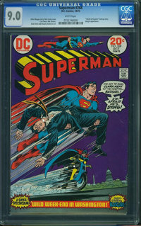 Superman #268 (DC, 1973) CGC VF/NM 9.0 White pages