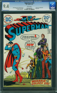 Superman #273 (DC, 1974) CGC NM 9.4 White pages