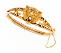 Estate Jewelry:Bracelets, Victorian Diamond, Gold Bracelet. ...