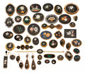 Estate Jewelry:Lots, Victorian Pietra Dura, Seed Pearl, Gold, Base Metal Jewelry. ...
