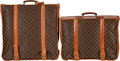"Luxury Accessories:Travel/Trunks, Louis Vuitton Set of Two; Classic Monogram Canvas Suitcases. Good Condition. 22"" Width x 22"" Height x 10"" Depth. 22"" Width... (Total: 2 )"