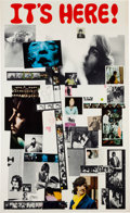 "Music Memorabilia:Memorabilia, Beatles ""White Album"" Promotional Poster (Apple, 1968)...."